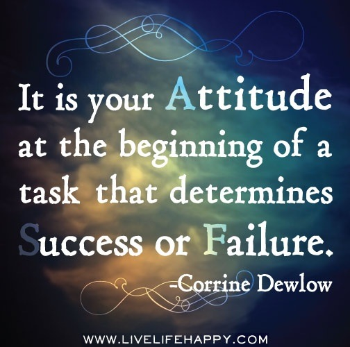Success Attitude Quotes: June 1st Quote Of The Week