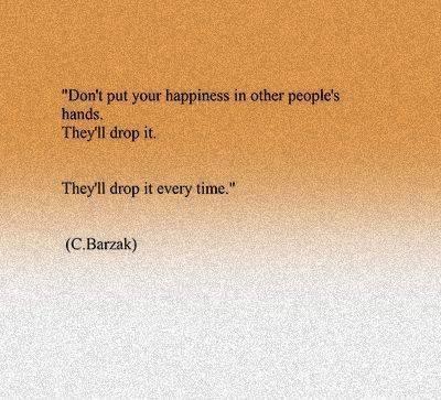C. Barzak Quote