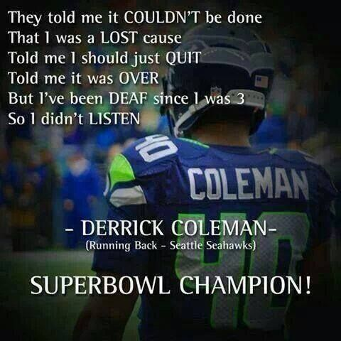 Derrick Coleman Overcoming the Odds