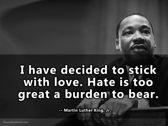 MLK Love vs. Hate | Coach Karen